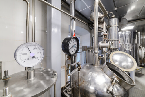 Steam distillation is a special type of distillation (a separation process) for temperature sensitive materials like natural aromatic compounds. It once was a popular laboratory method for purification of organic compounds, but has become less common due to the proliferation of vacuum distillatio