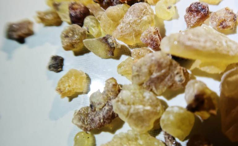 What does Frankincense smell like?